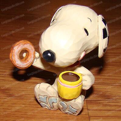 Peanuts by Jim Shore Enesco, 4059443 Snoopy Miniature Joe Cool