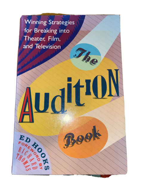 The Audition Book by Ed Hooks (1989, Trade Paperback)