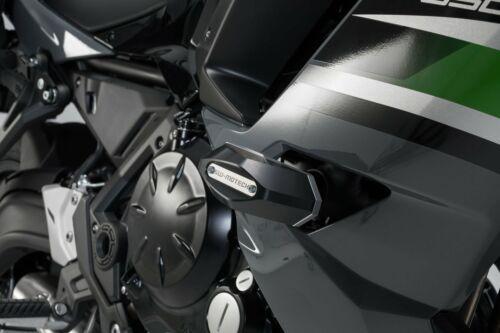 Sw-Motech Sturzpad-Kit Schwarz Kawasaki Ninja 650 . 16-