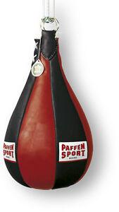 Paffen Sport Pro Maisbirne gefüllt, ca. 45cm, 6Kg Leder. Boxen, Kickboxen, MMA