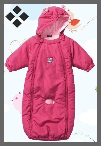 Kinder Baby Jungen Mädchen Wagenanzug Winteroverall Overall Anzug Schneeanzug