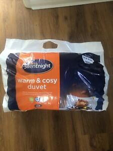 Silentnight Warm and Cosy 15 Tog, White, Double
