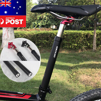 MTB Bike Bicycle Seat post Seatpost spring Suspension 50mm Travel 27.2//31.6*350