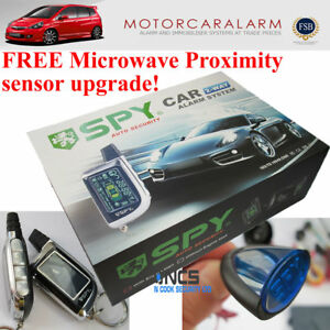 Details about SPY 2 WAY CAR ALARM SYSTEM & IMMOBILISER WITH REMOTE ENGINE  START and PROXIMITY