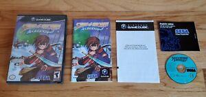 Skies of Arcadia Legends Nintendo GameCube Wii Complete lot Manual CIB TESTED !!