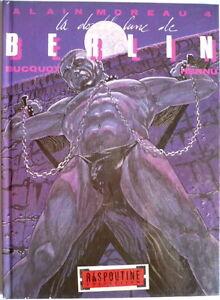 BUCQUOY-HERNU-LA-DOUBLE-LUNE-DE-BERLIN-ALAIN-MOREAU-EO-Ansaldi-1987-TBE