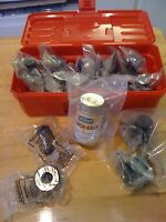 Piranha Ironworker P-50 & Others : 24-set Rounds, Oblongs, & Squares Tooling Kit