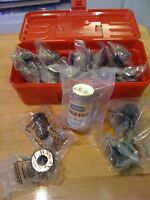 Piranha Ironworker P-50 & Others : 24-set Rounds And Shapes Tooling Kit