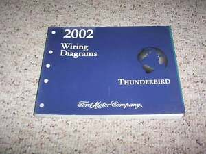 2002 ford thunderbird electrical wiring diagram manual 3 9l v8 ebay rh ebay com