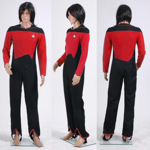Star Trek Jumpsuit Uniform Plus Size Halloween Costumes Cosplay Custom Made