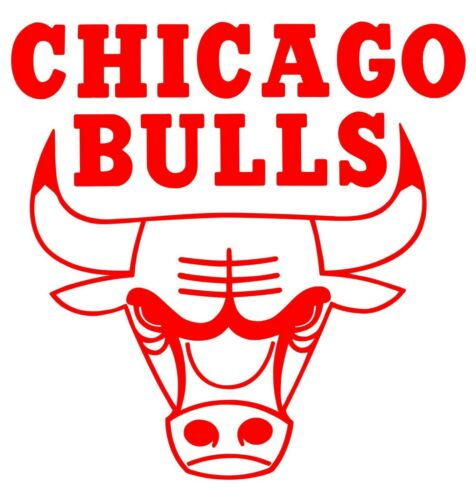 Chicago Bulls NBA Team Logo Decal Stickers Basketball