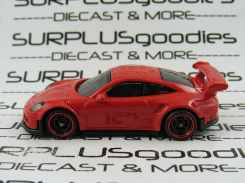 Hot Wheels 1:64 LOOSE Red 2000 PORSCHE 911 GT3 RS Custom SUPER w//Real Riders