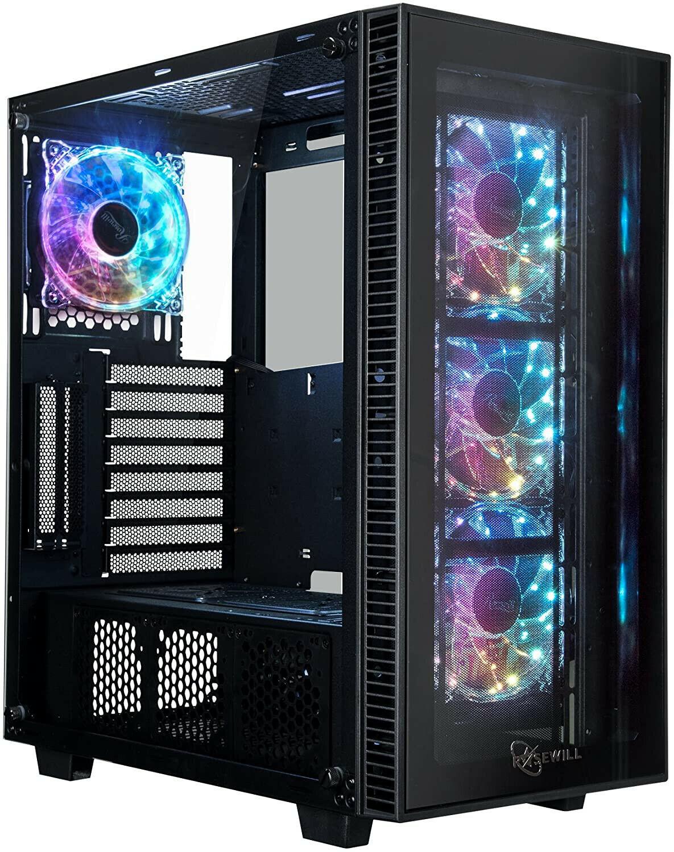 GAMERS PC INTEL I9-9900KF LIQUID COOLED 3.6GHZ 32GB 2TB GTX 1650 GPU WIN 10