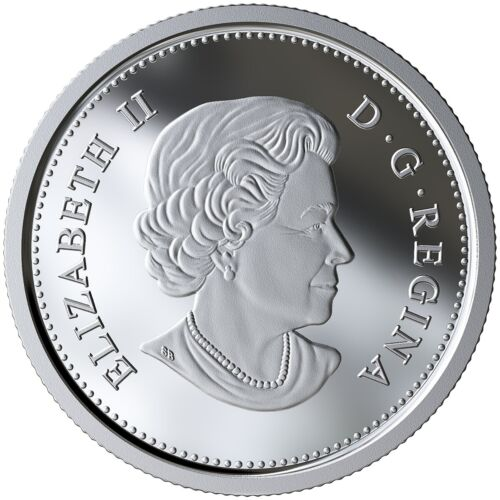 CANADA 2019 50 CENTS 99.99/% PROOF SILVER COLOURED HALF-DOLLAR HEAVY CAMEO COIN