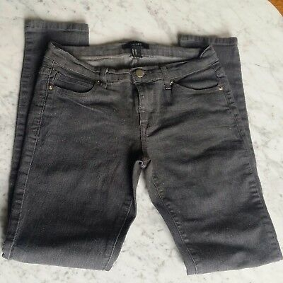 Free S&H !  Forever 21 Women's Charcoal Gray Stretch Denims US Size 26