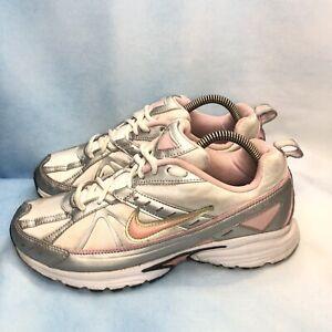 Nike Running Walking Tennis Shoes Womens US Sz 8 Gray Pink White Dart 6