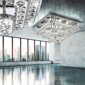 LED-Ceiling-Lamp-Chrome-Chandelier-K9-Crystal-Crown-44W-50-x-50-cm