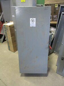Westinghouse SFB 100 Amp 600 Volt FB 3 Pole Circuit Breaker Enclosure