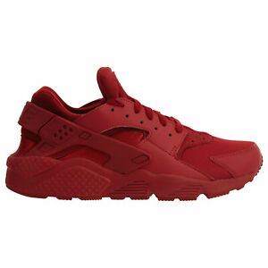 Details about Nike Air Huarache Mens 318429-660 Varsity Triple Red Running  Shoes Size 10