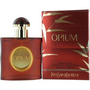 Opium By Yves Saint Laurent Edt Spray 1 Oz New Packaging