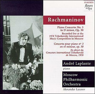 Andre Laplante # Rachmaninov Piano Concerto No 3 (Fleurs de Lys) CD Moscow PO