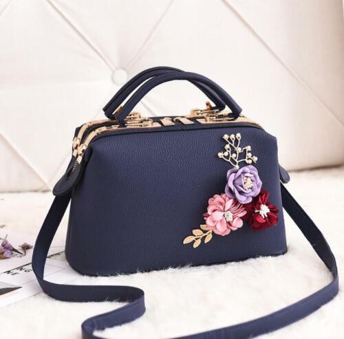Women Ladies Designer Fashion Tote Bag Leather Style Quality Shoulder Handbag UK