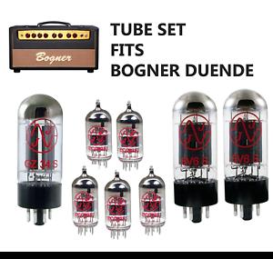 Tube SET  Bogner Duende JJ Electronics one 5AR/GZ34 + five 12AX7/ECC83 + two 6V6
