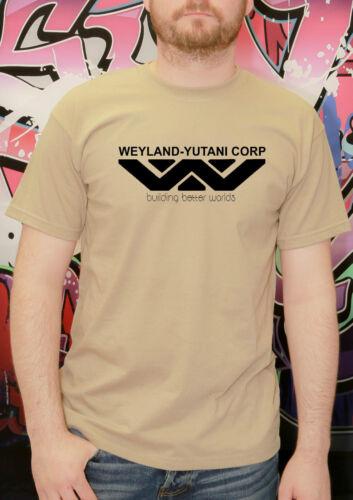 Weyland Yutani T-Shirt Tee aliens predator film enfants adulte t shirt jusqu/' à XXXL