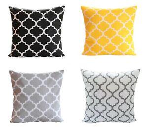 Kissenbezug 40x40 Farben Kissenhülle Kissen in17 Maßen 100/% Baumwolle Bezug