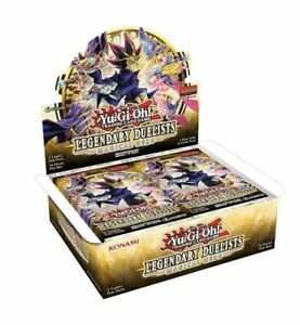 Yugioh Legendary Duelist Magical Hero Factory Sealed Box! 36 Packs!