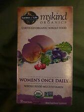 Garden of Life myKind Organics Women's Once Daily Multi-Vitamin 30 Tablets