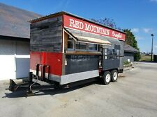 7x18 Enclosed Concession Food Vending Crawfish Trailer With 3500 Insulated Van