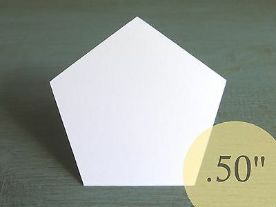 """2000 Hexagons 1//2/"""" HIVE PAPER PIECES English Paper Piecing EPP Quilt Templates"""