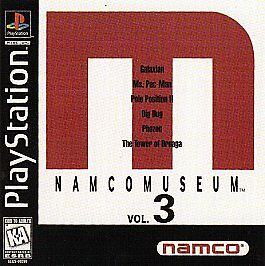 Namco-Museum-Vol-3-PlayStation-1-PS1-Disc-Only-Tested-Fast-Free-Shipping