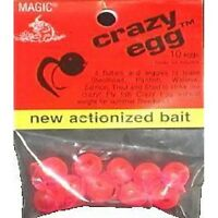Magic Products Flour Res Crazy Eggs Bait 10 Pack - First Salmon/steelhead Lure
