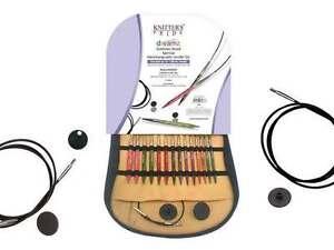 "Knitter's Pride ::Dreamz Symfonie Wood Special Interchangeable Needle Set:: 16"""