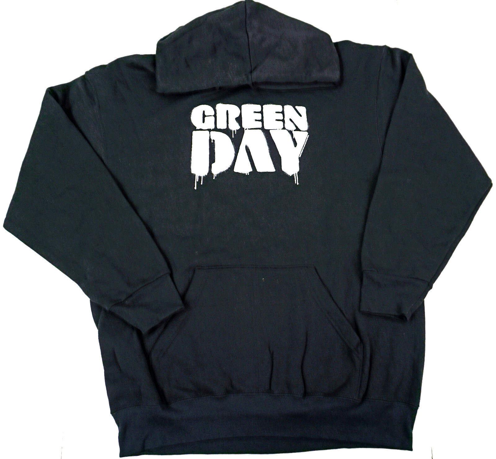 GREEN DAY Pullover Hoodie Sweatshirt Hoody Adult XL New Men