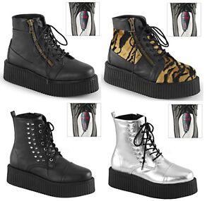 17daf1cac11 Details about Demonia men's V-CREEPER-565 571 573 Vegan Boots