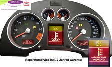 AUDI TT 8N verschiedene Tacho Kombiinstrument Reparatur FIS Display defekt etc