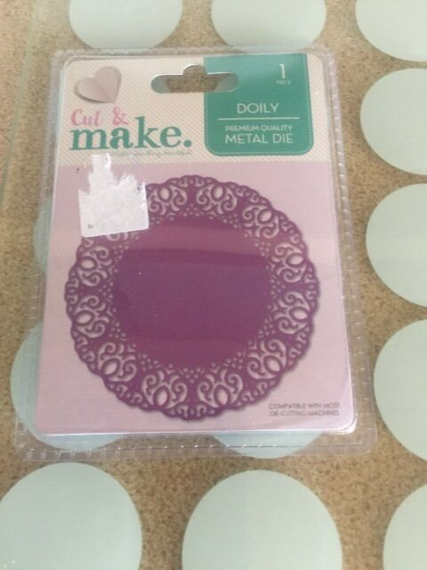 Cut And Make  Doily 1 Piece Free Post