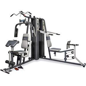Marcy-GS99-Dual-Stack-Home-Multi-Gym-Leg-Press-Shoulder-Press-amp-Arm-Curl