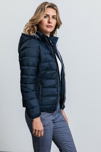 Russell  Ladies/' Womens/' hooded Nano Jacket Coat with Hood