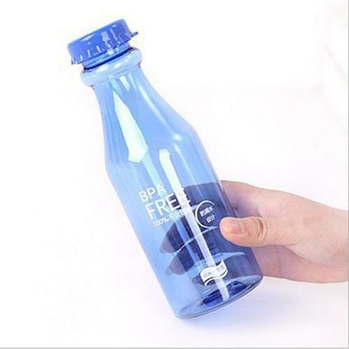 Unbreakable Outdoor Sports Travel Water Bottle Portable Leak-proof KV