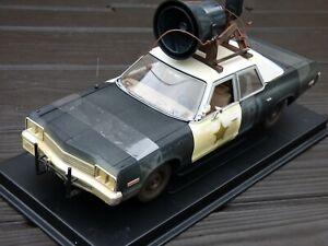 Joyride-Blues-Brothers-s-Bluesmobile-1-18-1974-Dodge-Monaco-sucio-Policia-Coche-de-juguete
