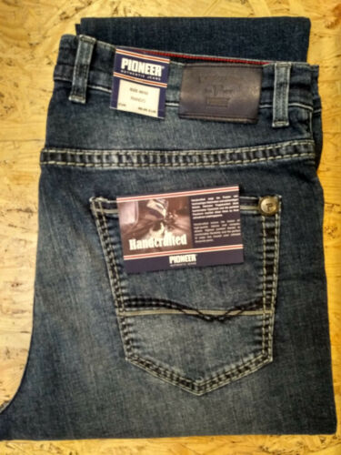 saddle Stitch handcrafted Jeans 1654-9709.440 PIONEER Rando