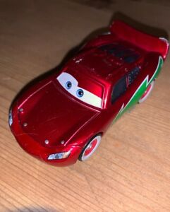 Disney-Pixar-Cars-Lightning-McQueen-Diecast-Vehicle-Holiday-Hotshot-Christmas