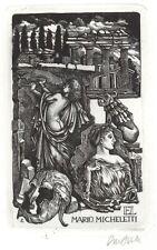 Ex Libris Lou Strik : Opus 205, Mario Micheletti