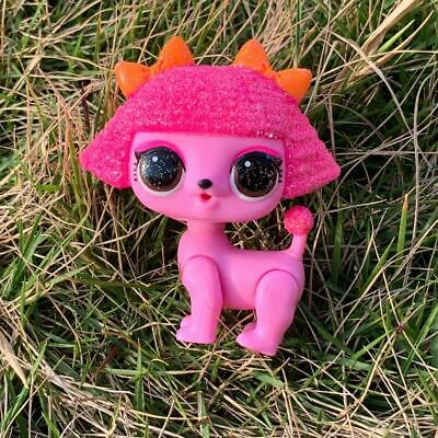 LOL Surprise Doll PET Makeover Series 5 Champ Bunny Glitter Queens NO FUZZY Toy