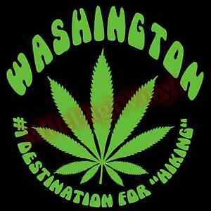 Marijuana-Leaf-1-Destination-Hiking-Washington-Vinyl-Decal-Sticker-Window-Glass