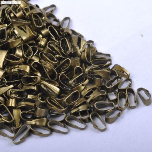 FREE SHIP 200pcs Lots Wholesale golden silver-Plated elliptic clasps 6X3MM SH341